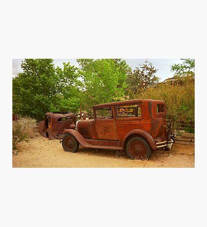 Route 66 Vintage Auto Photographic Print