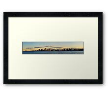 Halifax from Dartmouth Framed Print