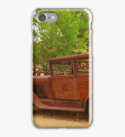 Route 66 Vintage Auto iPhone Case/Skin