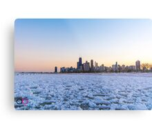 Chicago Skyline at the North  Metal Print