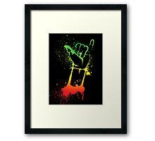 Shaka  Framed Print