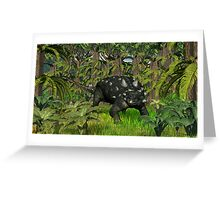Euoplocephalus Greeting Card