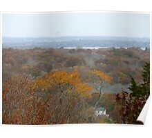 Autumn in Rhode Island | Tower Hill  Poster