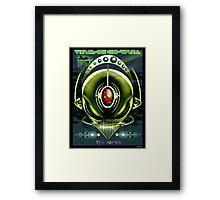 Alien Cyborg Framed Print