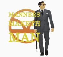 Manners Maketh Kingsman Kids Clothes