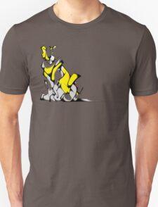 Yellow Voltron Lion Cubist T-Shirt
