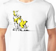 Yellow Voltron Lion Cubist Unisex T-Shirt