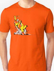 Yellow Voltron Lion Cubist Unisex T-Shirt