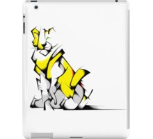 Yellow Voltron Lion Cubist iPad Case/Skin