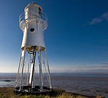 Portishead Lighthouse by Simon Pow