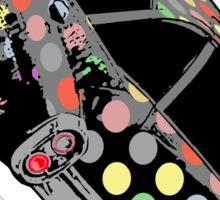 The Plague (Damien Hirst vs Damien's Hearse) Sticker