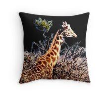 Giraffe2 Throw Pillow