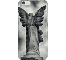 Stone Angel Wings iPhone Case/Skin