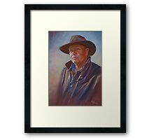 """A Man of the Land"" Framed Print"