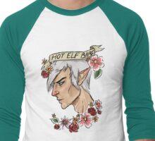 Hot Elf Babe Men's Baseball ¾ T-Shirt