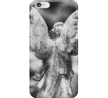 Stone Angel from Behind iPhone Case/Skin