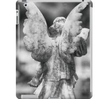 Stone Angel from Behind iPad Case/Skin