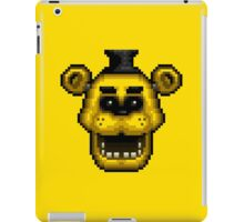 Five Nights at Freddy's 1 - Pixel art - Golden Freddy iPad Case/Skin