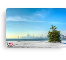 Lone Tree (Full Image) Canvas Print