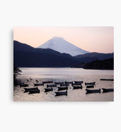 Lonely after Dark (Japan) Canvas Print