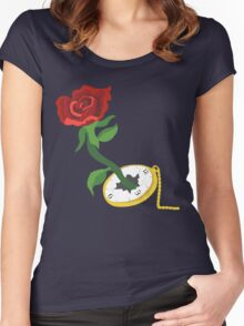 Time Is Beauty Women's Fitted Scoop T-Shirt