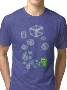 Creeper bubbles Tri-blend T-Shirt