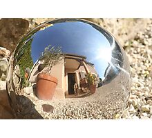 Mirror Ball Photographic Print
