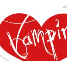 My Other Boyfriend Is A Vampire Sticker