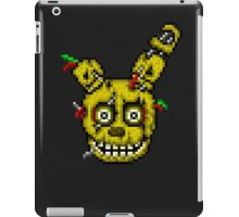 Five Nights at Freddy's 3 - Pixel art - SpringTrap / Golden Bonnie / Rotten Bonnie iPad Case/Skin