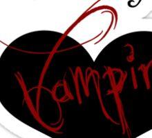 My Other Boyfriend Is A Vampire version 2 Sticker