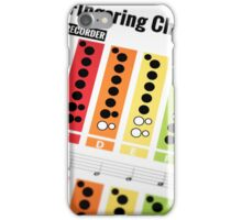 Recorder iPhone Case/Skin