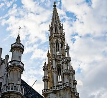 Town Hall - Brussels - Grand Place by Alison Cornford-Matheson