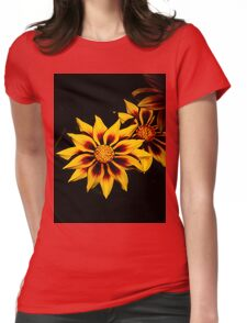 Stunning Flower Womens Fitted T-Shirt
