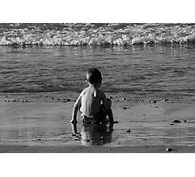 Jacob At The Sea Shore Photographic Print