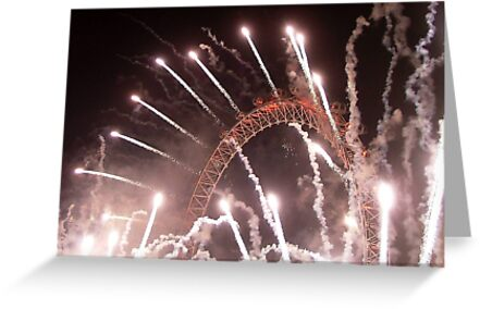 New Years The Eye London - 2007 by Colin  Williams Photography