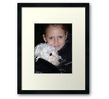 Fur Skin Fur Framed Print