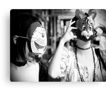 The Rabbit and The... Canvas Print