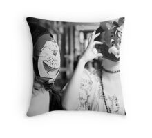 The Rabbit and The... Throw Pillow