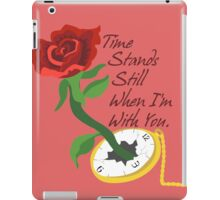 Time Stands Still iPad Case/Skin