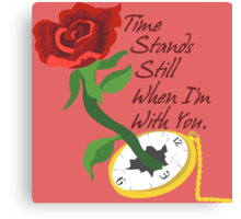 Time Stands Still Canvas Print