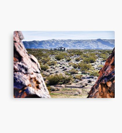 Camp Rock Road View Canvas Print