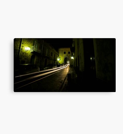 Time Travel Through The Streets Of Sant Agata Canvas Print