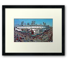 Old School Opening Day Framed Print
