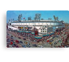 Old School Opening Day Canvas Print