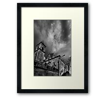 Houses of the Holy - Sicilian Vers. Framed Print