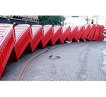 Kingston Phone Boxes Photographic Print