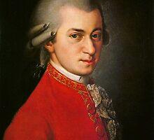 Wolfgang Amadeus Mozart  by vintageblue
