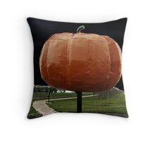 roland pumpkin Throw Pillow