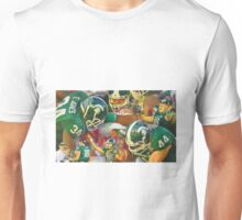 2014 Michigan State Rose Bowl Collage Unisex T-Shirt