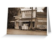 Campbell's General store Greeting Card
